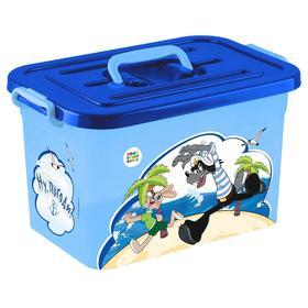 Ящик для хранения игрушек, 6,5 л, МИКС