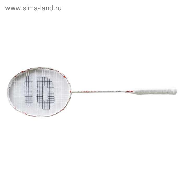 Ракетка для бадминтона Atemi, цвет красно-белый, BA-1000L