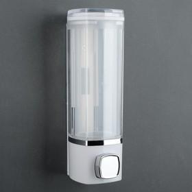 Диспенсер для антисептика/жидкого мыла механический, 280 мл, пластик, цвет МИКС Ош