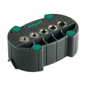 Кондуктор для сверления Wolfcraft 4685000, d=4,5,6,8,10 мм, V-образный паз Ош
