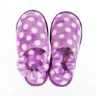 Тапочки детские Forio арт. 136-7022 А, цвет фиолетовый, размер 31