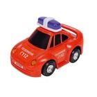 Игрушка «Машинка службы спасения», красная, 12 см