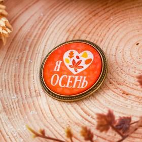 Значок 'Я люблю осень', 8 х 12 см Ош