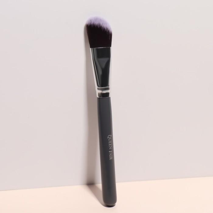 Кисть для макияжа «Brush GRAPHITE», 17,5 см, цвет серый