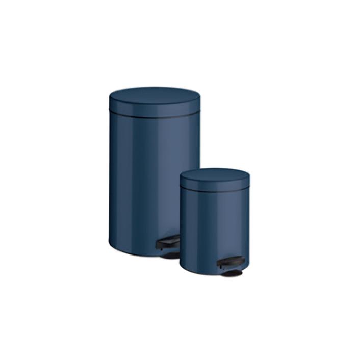 Ведро для мусора Meliconi, 14 л, цвет синий