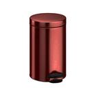 Ведро для мусора Meliconi, 5 л, цвет бордо