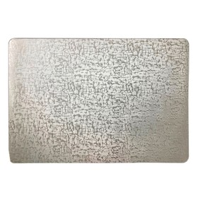 Салфетка «Абстракция», цвет серебро, 30 х 40 см