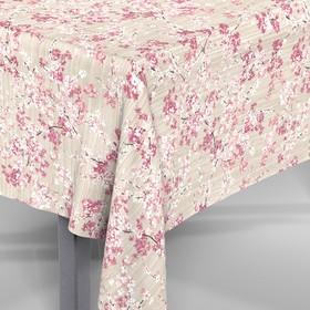 Скатерть Loneta «Амарена», розовая, 30622/3201, круг 160 см