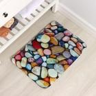 Коврик Доляна «Камни», 40×60 см