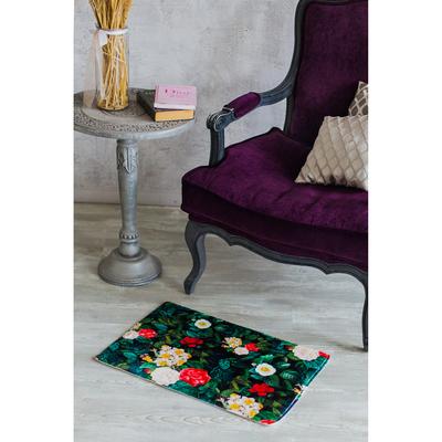 Коврик «Цветочные мотивы», 40×60 см