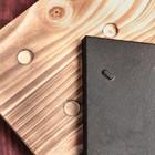 Сковорода «Тяпка», 19,5х15,5 см, на деревянной подставке - Фото 3