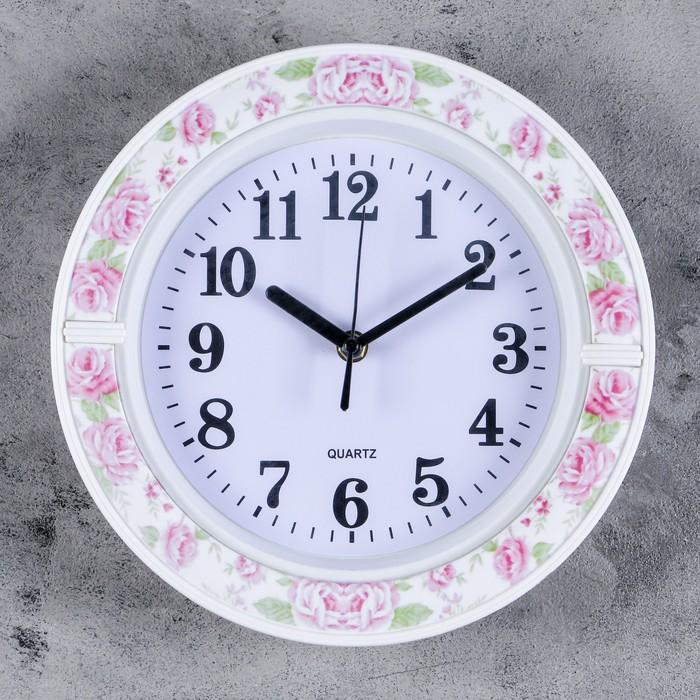 Часы настенные, серия Классика, Джуди, 26х26 см, дискретный ход