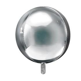 купить Шар фольгированный 32 Сфера, цвет серебряный