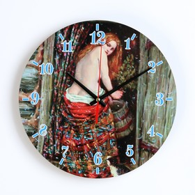 Часы настенные, серия: Интерьер, для бани 'Девица в бане' Ош
