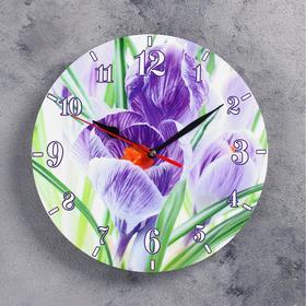 Часы настенные, серия: Цветы, 'Волшебство', 24 см Ош