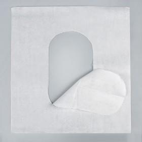 Туалетное покрытие на унитаз 1/4 сложение, 100 листов, для держателя MERIDA, ASTER, LIME mini, Ksitex Ош