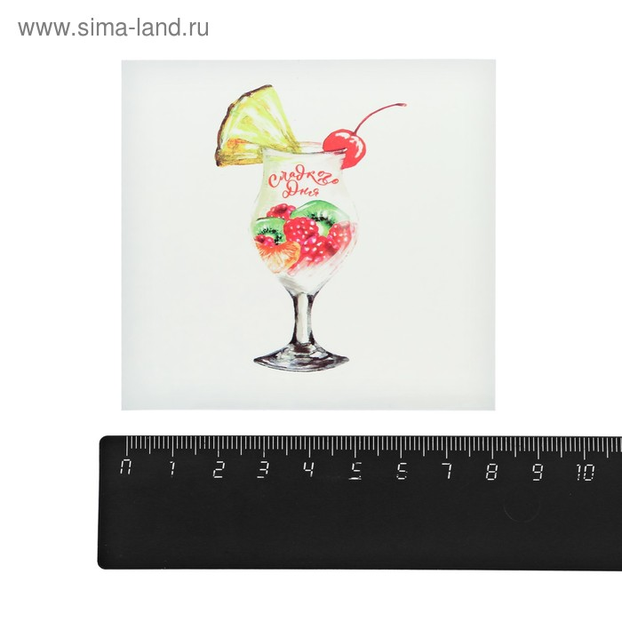 Наклейки стикеры «Сладости», 8 × 8 см