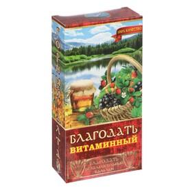 """Бальзам безалкогольный """"Благодать"""" витаминный, 250 мл"""