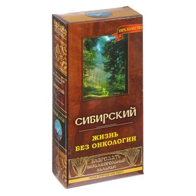 """Бальзам безалкогольный """"Сибирский"""" жизнь без онкологии, 250 мл"""
