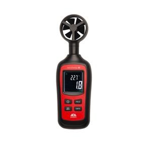 Анемометр-термометр ADA AeroTemp 30 А00515, с крыльчаткой, 0.4-30 м/с, -20 - 70°, ± 3%