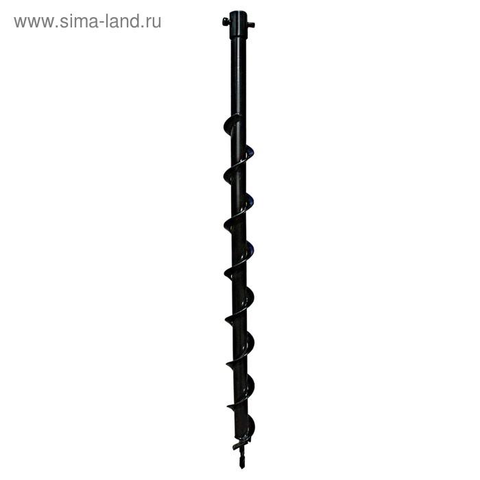 Шнек для мотобура ADA Drill 40 А00452, 800 мм, d=40 мм, внутренний диаметр крепления 20 мм