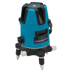 Нивелир лазерный INSTRUMAX Constructor 4D Set IM0114, 20/70 м, ±2мм/10м, ±3°, 5 линий