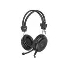 Наушники с микрофоном A4Tech HS-30 2м мониторы оголовье черный