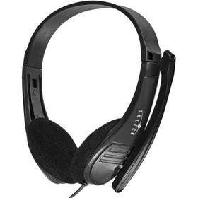 Наушники с микрофоном Oklick HS-M150 2.2м накладные оголовье (NO-003N) черный Ош