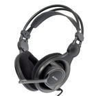 Наушники с микрофоном A4 HS-100 2м мониторы оголовье черный/серый