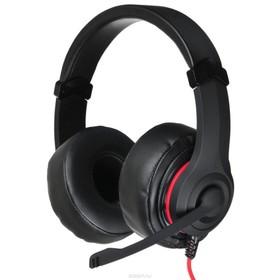 Наушники с микрофоном Oklick HS-L330G NIGHTMARE 2.2м мониторы оголовье (N-6) черный