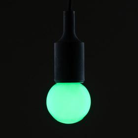 Лампа светодиодная декоративная, G60, 5 SMD2835, для белт-лайта, зеленый