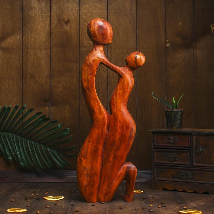 Сувенир дерево Объятия 50х20х5,5 см