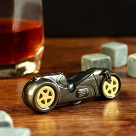 Зажигалка электронная, 'Мотоцикл', USB, спираль, 1.5х2.5х8.5 см Ош