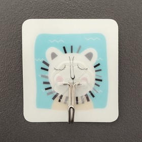 Крючок-наклейка «Животные», рисунок МИКС Ош