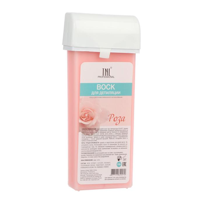 Воск для депиляции в картридже TNL «Роза», 110 гр