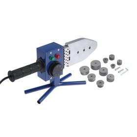 Аппарат для сварки пластиковых труб TUNDRA, 900 Вт, комплект насадок  20-63 мм, 50-300° Ош