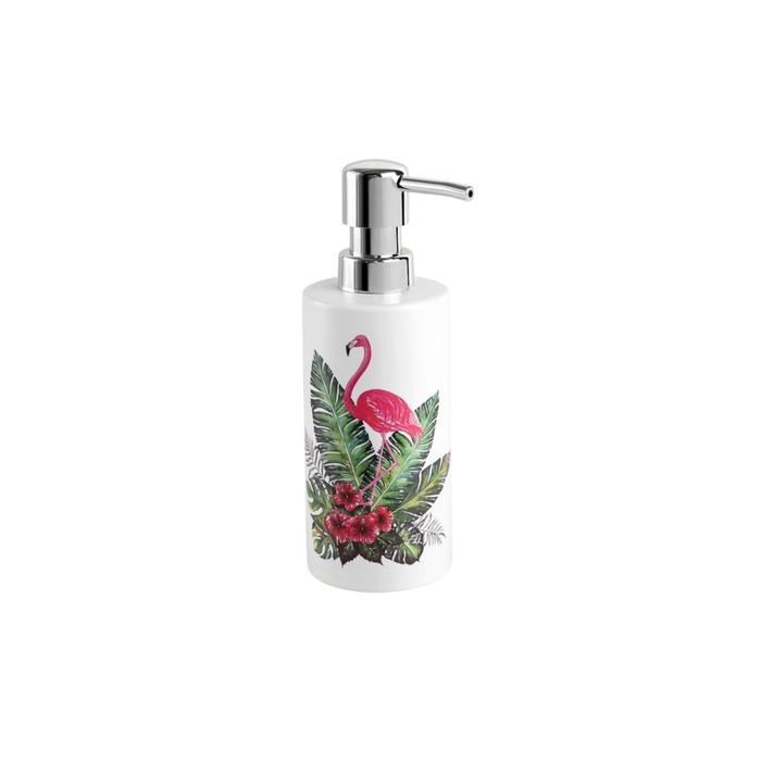 Дозатор для жидкого мыла Flamingo