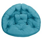 Кресло-футон, размер 200х100х10 см, голубой