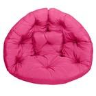 Кресло-футон, размер 200х100х10 см, розовый
