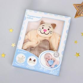 Игрушка «Котик», повязка, для новорождённых Ош