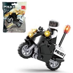 Конструктор «Полицейский байк», 25 деталей Ош