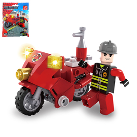 Конструктор «Пожарный байк», 26 деталей Ош