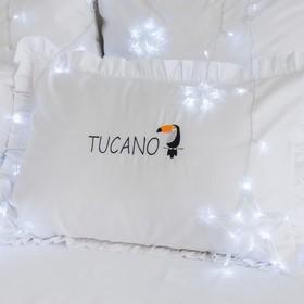 """Наволочка """"Этель"""" Tucano 50х70+5 см, пл 125 г/м², 100% хлопок, сатин"""