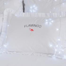"""Наволочка """"Этель"""" Flamingo 50х70+5 см, пл 125 г/м², 100% хлопок, сатин"""