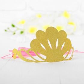 Корона «Великолепие», цвет золотой Ош