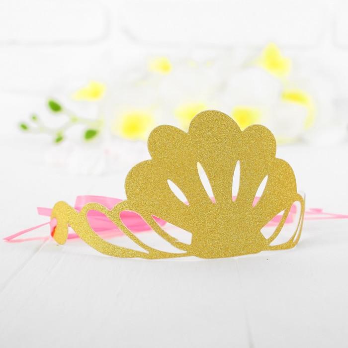 Корона Великолепие, цвет золотой