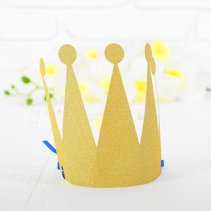 Корона Царевна, цвет золотой