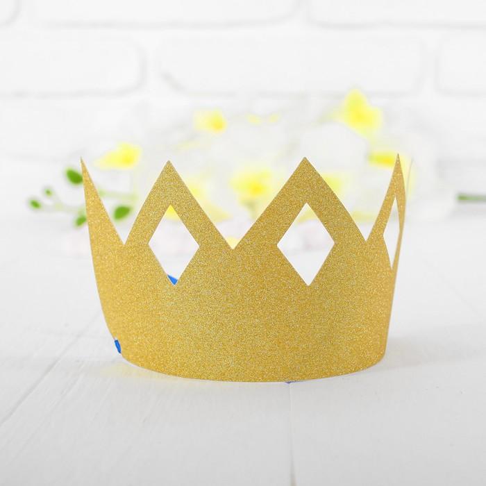 Корона Узор, цвет золотой