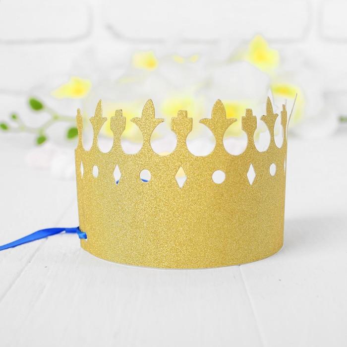 Корона Вдохновение, цвет золотой