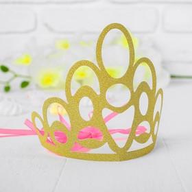 Корона «Красота», цвет золотой Ош